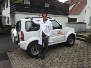Hausarzt-Oberhaching-Hausbesuche-Auto