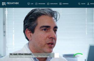 BR Gesundheitsmagazin Cholesterinsenker Praxis Dr. Abbushi