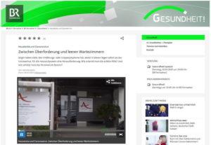 BR Gesundheitsmagazin Praxis Dr. Abbushi Deisenhofen Oberhaching Landkreis München