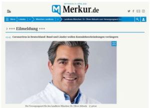 Dr. Oliver Abbushi Versorgungsarzt Landkreis München Coronakrise